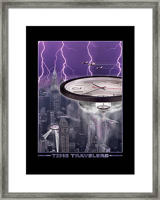 Time Travelers 2 Framed Print
