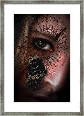 Time Travler  Framed Print by Nathan Wright