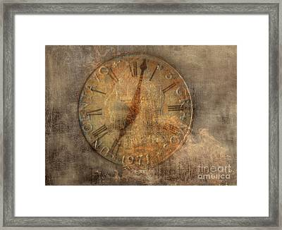 Time Waits For No One Framed Print by Randy Steele