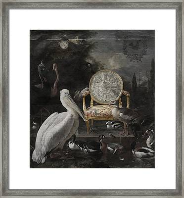 Time Waits For No One Framed Print by Terry Fleckney