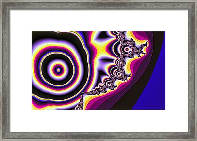 Time Warp Framed Print by Betsy Jones