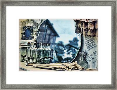 Time Warp Framed Print