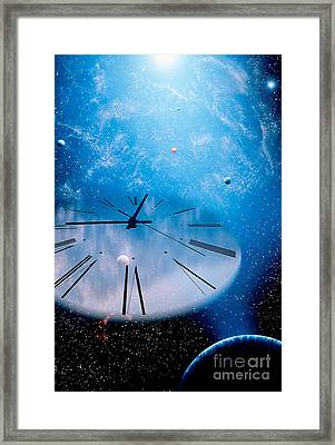 Time Warp Framed Print by Mike Agliolo