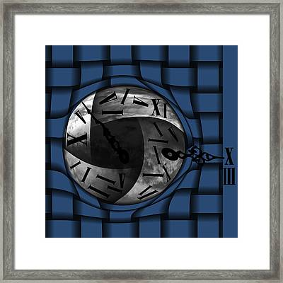 Time Weaves Framed Print by Barbara St Jean