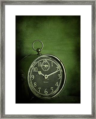 Time Will Tell Framed Print by Larysa  Luciw