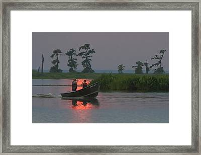 Time With Dad Framed Print