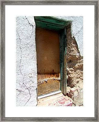 Time Worn Framed Print