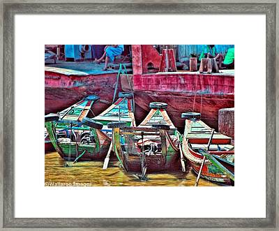 Time Worn Framed Print by Wallaroo Images