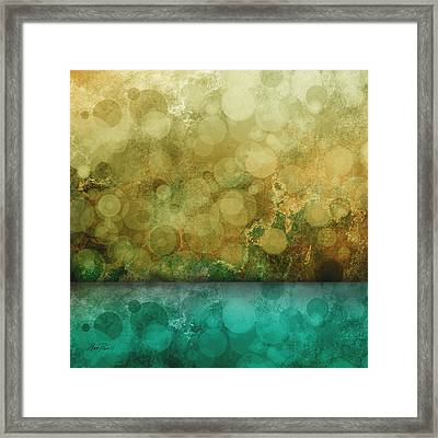 Timeless Abstract Art Framed Print by Ann Powell
