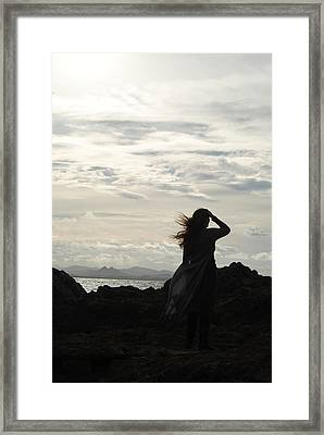 Framed Print featuring the photograph Timeless Celtic Sky by Ankya Klay