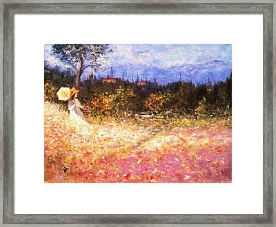 Timeless.. Framed Print