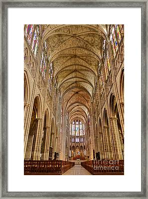 Timeless Gothic  Framed Print by Olivier Le Queinec