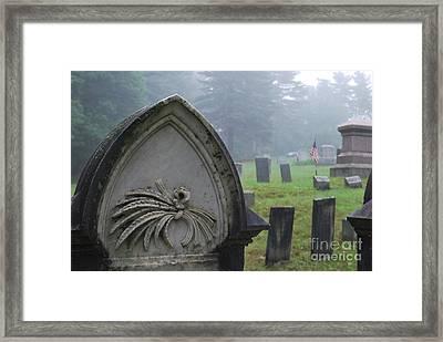 Timeless Honor Framed Print