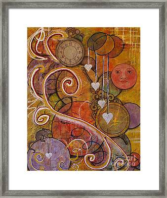 Framed Print featuring the painting Timeless Love by Jane Chesnut