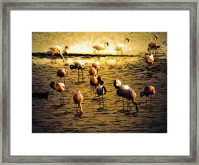 Timeless Peace Framed Print by Ernestine Manowarda