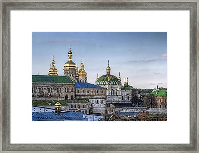 Timeless The Lavra In October Framed Print