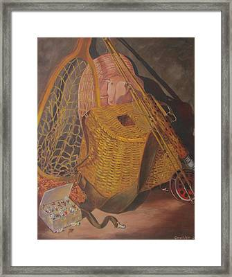 Framed Print featuring the painting Timeless Treasures by Tony Caviston