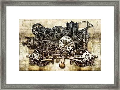 Timeloop Framed Print