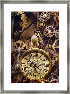 Timely Fashions Framed Print by Chuck Staley