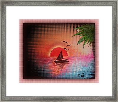 Timeout Vision Framed Print by Hanny Heim