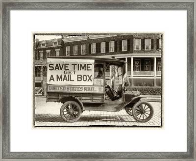 Times Have Changed Framed Print by Jack Zulli