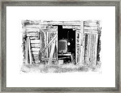 Time's Passing Framed Print by Heiko Koehrer-Wagner