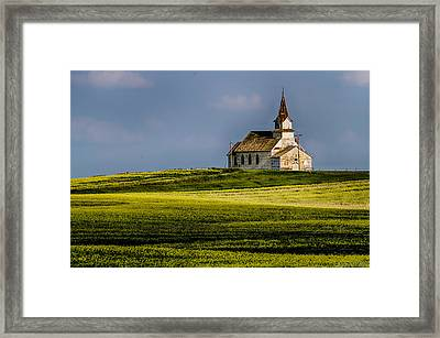 Times Past Framed Print by Jeanie Eaton