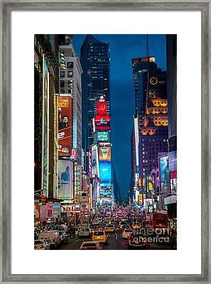 Times Square I Framed Print