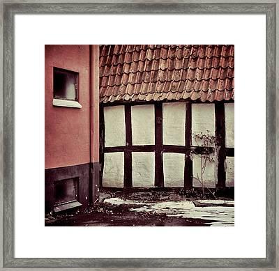 Timeslip Framed Print by Odd Jeppesen