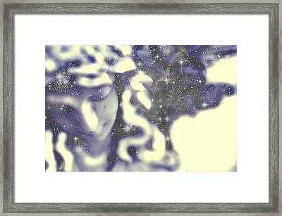 Timid Angel Framed Print by Terry Atkins