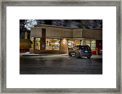 Timmy's At Night Framed Print
