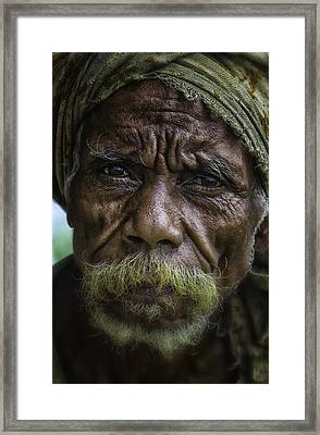 Timorese Fisherman Framed Print by David Longstreath