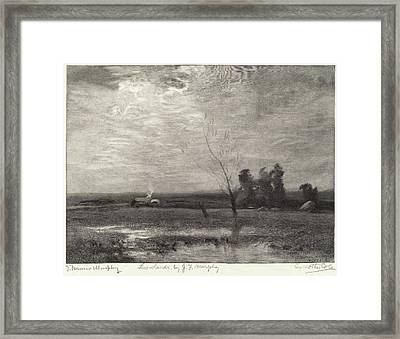 Timothy Cole After John Francis Murphy, Lowlands Framed Print
