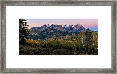 Timp First Light Framed Print