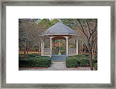 Timrod Park Gazebo Framed Print