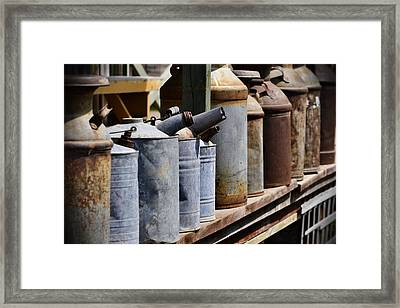 Tin Can Alley Framed Print