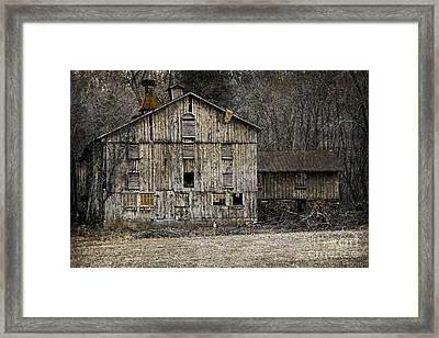 Tin Cup Chalice Rustic Barn Framed Print