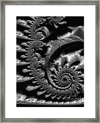 Tin  Framed Print by Heidi Smith