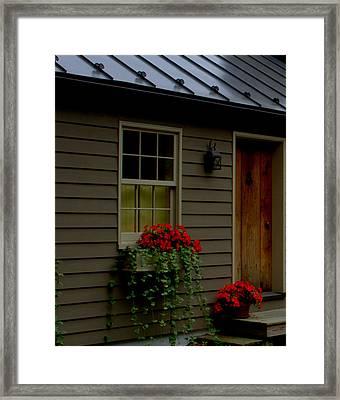 Framed Print featuring the photograph Tin Ribbon by Cathy Shiflett