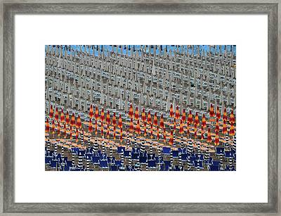 Tin Soldiers Framed Print