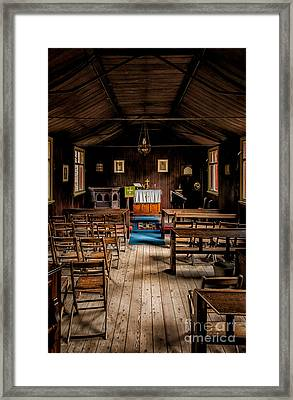 Tin Tabernacle Church Framed Print by Adrian Evans