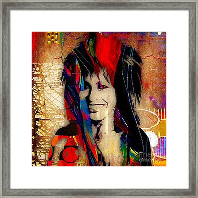 Tina Turner Collection Framed Print