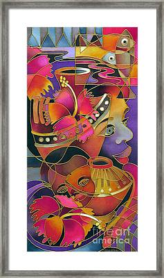 Tinana II - Strength Of A Woman Framed Print