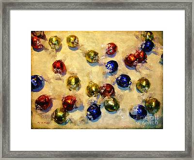 Tinfoiled Truffles Framed Print by RC deWinter