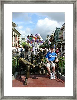 Framed Print featuring the photograph Tingle Time by David Nicholls