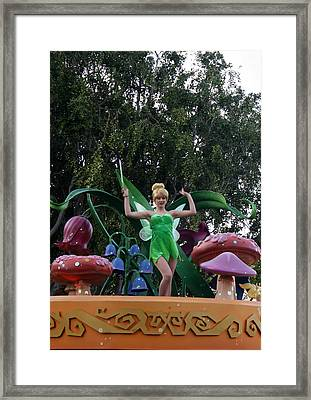 Tink On Parade Framed Print by David Nicholls