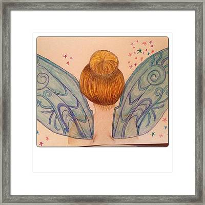 Tinker Bell Framed Print by Oasis Tone