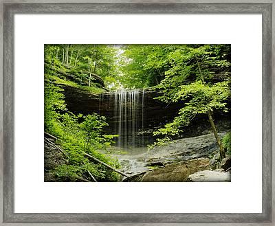 Tinker Falls Framed Print