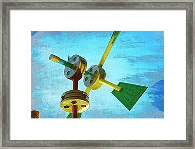 Tinkertoys Framed Print