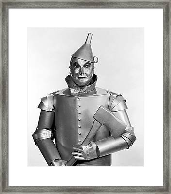 Tinman - Wizard Of Oz Framed Print